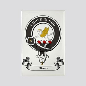 Badge-Niven [Peebles] Rectangle Magnet